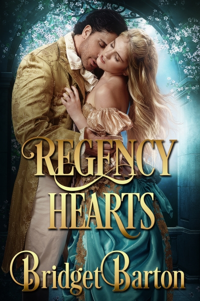 Between a Duke and an Earl (Regency Hearts Book 1)