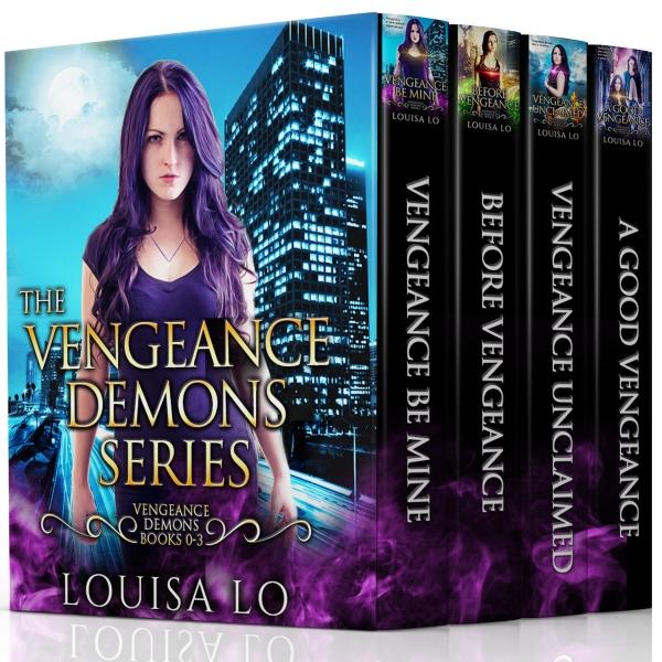 The Vengeance Demons Series: Books 0-3 (The Vengeance Demons Series Boxset)