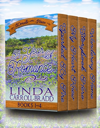 A Year of Romance, Books 1-4 of Dorado, Texas series