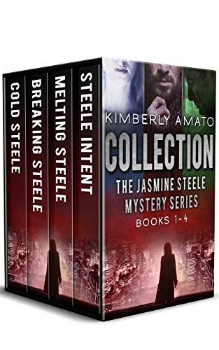 Jasmine Steele Mysteries Vol. 1-4