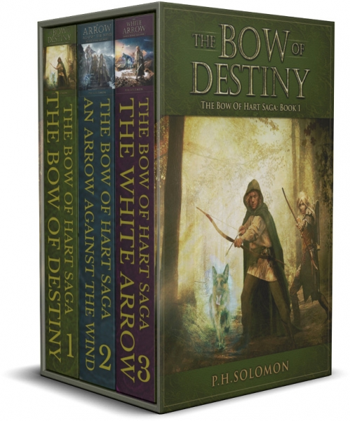The Bow of Hart Saga Complete Series