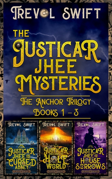 The Justicar Jhee Mysteries: Anchor Trilogy